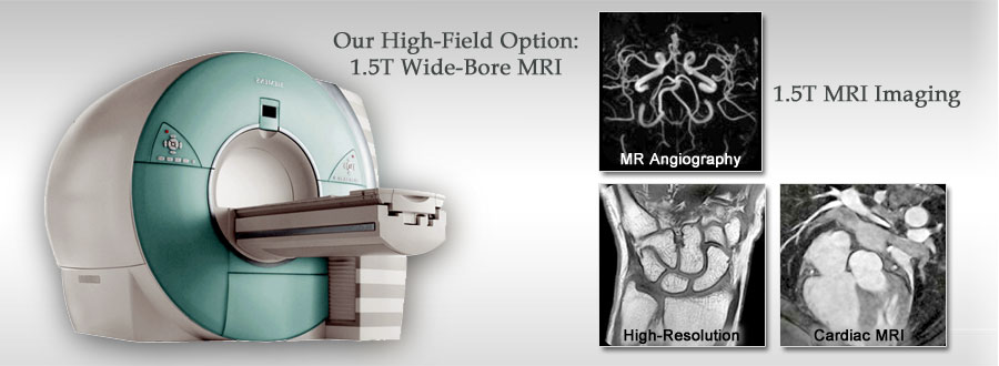 High Field 3.0T MRI imaging